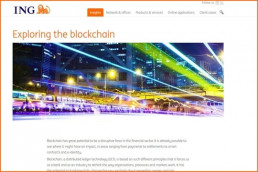 ING veut faire passer toutes les banques sur la blockchain